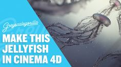 Join Patrick Goski and Nick Campbell to create a beautiful Jellyfish Scene in Cinema 4D. Learn some modeling techniques in Cinema 4d. ***** Want More Recordi...
