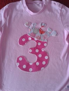 Happy Girls, Boys T Shirts, Joyful, Baby Dress, Diy And Crafts, Kids Fashion, Applique, Patches, Embroidery