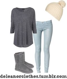 Outfit with uggs