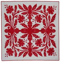 Sylvia Pippen Designs gallery of Sashiko and Applique Quilts Hawaiian Quilt Patterns, Hawaiian Quilts, Japanese Quilts, Embroidery Stitches Tutorial, Easy Quilts, Applique Quilts, Quilting Projects, Embellishments, Tapestry