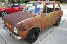 Rusty But Not Crusty: 1971 Fiat 850 Sedan - http://barnfinds.com/rusty-but-not-crusty-1971-fiat-850-sedan/