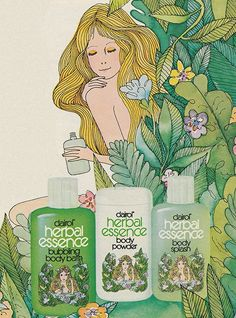 March 1976. 'Give your whole body an Herbal Essence bathing experience.'