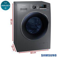 Lava & Seca Samsung 10.2 Kg com 14 Programas (SGWD10J6410AX)