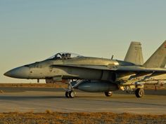 Canadian F-18 on middle east duty Jan 2015
