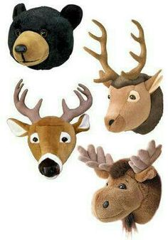 Omg I'm so getting these for the boys room and probably the buck for the girls rooms