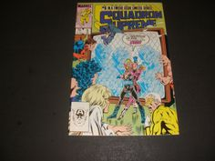 SQUADRON SUPREME #5 LIMITED SERIES (1986) start the bid at $1.50 buy it now for $3.00+ ship!!