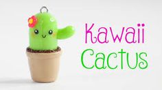 Hi guys! Today, I show you how to make this super adorable cactus charm. I hope you guys enjoy this video - Nim XOXO ♡ Materials . Clay Projects, Projects To Try, Christmas Time, Christmas Ornaments, Summer Diy, Air Dry Clay, Tropical Garden, Clay Charms, Flower Pots