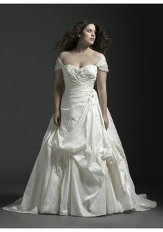 9400e04651e1 Like the sleeves! Taffeta Sweetheart Strapless Neckline Beaded Applique  Lace up Rouched Bodice A-
