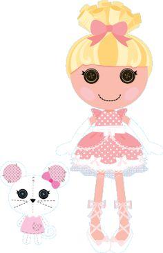 Lalaloopsy w MiniMini+ - sekcja z grami i zabawami dla najmłodszych Pink Castle, Lalaloopsy Party, Pink Cheeks, Pet Mice, Learn Art, Bright Pink, Cartoon Characters, Babys, Fairy Tales