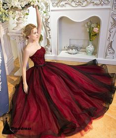 Prom Dress Princess, 2018 new fashions Unique burgundy tulle long prom dress, burgundy evening dress Shop ball gown prom dresses and gowns and become a princess on prom night. prom ball gowns in every size, from juniors to plus size. Elegant Bridesmaid Dresses, Strapless Prom Dresses, Unique Prom Dresses, Red Wedding Dresses, Pretty Dresses, Dress Prom, Gown Wedding, Dress Long, Burgundy Bridesmaid