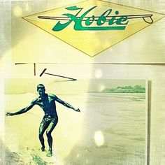 #throwbackthursday... Classics never go out of style. #hobie #surf #surfshop @hobiesurfboards #singlefin #surfhistory #classic #noseride