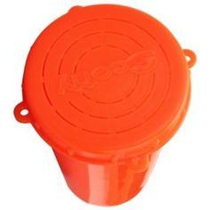 Scotty Bait Jar with Lid - Orange - 1 Liter