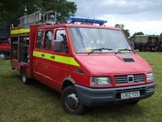 Ford Iveco Fire Tender   by classic vehicles