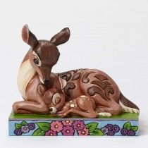 Jim Shore Disney Traditions - Bambi with Mother Sleep Tight Young Prince Figurine