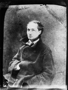 Charles Baudelaire por Nadar en 1855