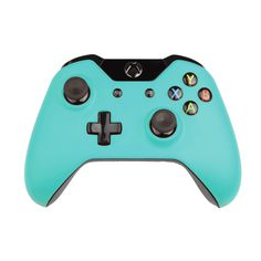 Custom Xbox One Controller Wireless Glossy Mint Turquoise