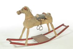 primitive rocking horse