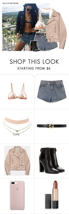 """""""#2042"""" by sofi-camachod ❤ liked on Polyvore featuring Charlotte Russe, Gucci, Acne Studios, Tom Ford, Estée Lauder, MANGO and daniellepeazer"""