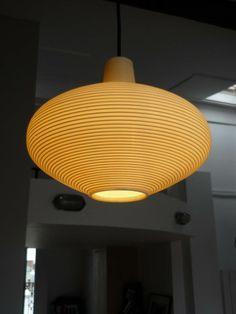 Lampe suspension ROTAFLEX 1950/60 Vintage Design Pendant lamp 50's Circa
