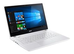Acer Aspire V 13 133inch Full HD Touchscreen Notebook Intel Core i56200u 23Ghz 6GB Memory 256GB SSD Platinum White Windows 10Certified Refurbished *** You can find more details by visiting the image link.
