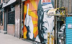 Streetart in Williamsbrug, New York City
