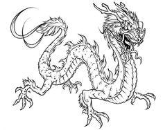 Free Printable Dragon Coloring Pages For Kids | Free printable ...