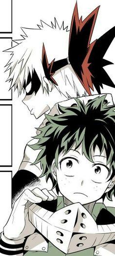 Bakugou and Midoriya