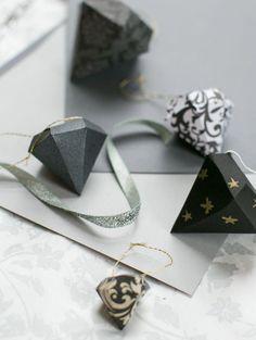 DIY DIamond Ornaments | Henry Happened