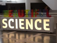 The Beautiful Science exhibition is now open!