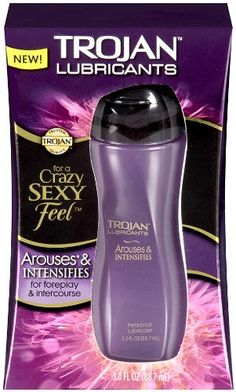 Trojan Premium Lubricant Arouses and Intensifies for Crazy Sexy Feel for Foreplay