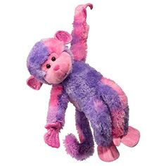 Douglas Toys Swinger Pink/purple Monkey -- Check this awesome product by going to the link at the image. (This is an affiliate link) #Puppets