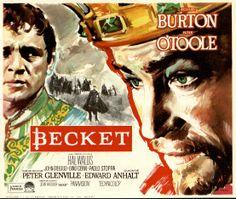 136.  MAC. Becket. Dirigida por Peter Glenville. Barcelona: Gráficas Bobes, 1964.  #ProgramasdeMano #BbtkULL #Diseñadores #MAC#DiadelLibro2014