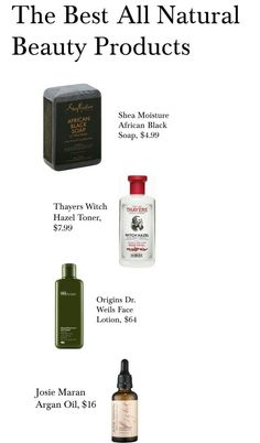 The Best All Natural Beauty Products