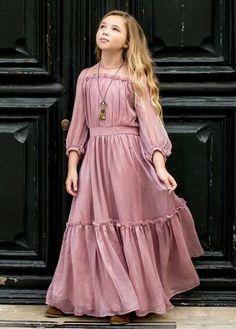 dresses kids girl Jeune Fille Clothing Dresses Page 7 Joyfolie Girls Maxi Dresses, Little Girl Dresses, Dress Outfits, Girl Outfits, Wedding Dresses, Work Dresses, Party Dresses, Summer Dresses, Girls Fashion Clothes