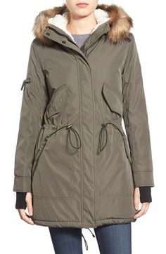 fc005e9f6 The North Face 'Arctic' Parka with Removable Faux Fur Trim Hood ...