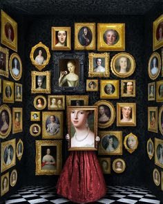 "ART WITHIN ART, ""Picture Perfect"", creative by Beth Conklin, photo by Mikeshake Magazine, pinned by Ton van der Veer Audre Lorde, Cindy Sherman, Earth Photos, Anais Nin, Pop Surrealism, Visionary Art, Office Art, Surreal Art, Art Images"