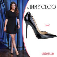 """Kristen Stewart in Jimmy Choo """"Anouk"""" Pumps"""