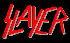 Metallica Sonisphere Festival Slayer the first videos ATHENS Metal Band Logos, Rock Band Logos, Metal Bands, Rock Bands, Jeff Hanneman, Power Metal, Thrash Metal, Tom Araya, Reign In Blood