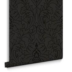 Majestic Black Wallpaper