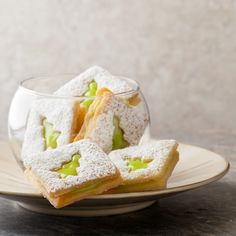 Lime Linzer Cookie...Cookie Exchange Winner, I know it isn't a contest, but if it was I'd win.