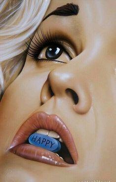 Wallpaper Iphone - So fucking what? - Wallpapers World Sad Art, Weird Art, Creative Photography, Art Photography, Deep Art, Happy Pills, Arte Pop, Art Drawings Sketches, Surreal Art