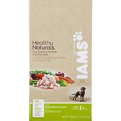 Healthy Naturals Adult Dry Dog Food with Wholesome Chicken 61lb bag >>> You can find out more details at the link of the image.