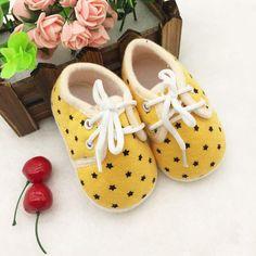 Star Power Baby Sneakers