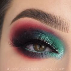 Makeup Vs No Makeup, Glamour Makeup, Eye Makeup Steps, Eye Makeup Art, Colorful Eye Makeup, Simple Eye Makeup, Mermaid Eye Makeup, Beauty Makeup, Exotic Makeup
