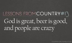 country life music quotes