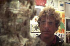 Dustin Yellin Art | Dustin Yellin with his work