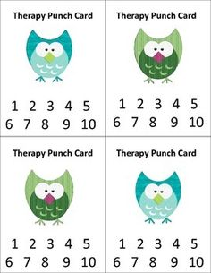 Printable Punch Card Template Punch Or Stamp Cards Description - Reward punch card template
