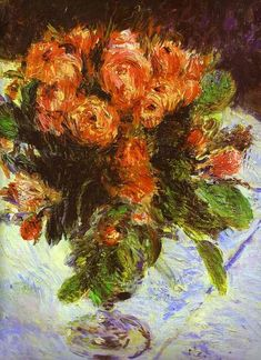 Renoir was born in 1841 in Limoges, France, but moved to Paris with his family when he was 13. His first paintings were flowers on China, as part of his work in a local porcelain factory. In 1860 he studied under Charles Gleyre where he met Alfred Sisley, Frederic Bazille and Claude Monet, fellow student. He studied at the Louvre and then attended the Ecole des Beaux-Arts.