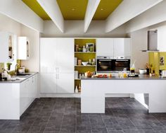 Greenwich Gloss White   Greenwich   Kitchen Families   Kitchen Collection    Howdens Joinery