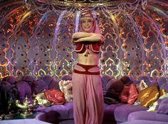 "Reruns of Jeannie in a bottle: ""I Dream of Jeannie,"" starring Barbara Eden, premiered on September 18, 1965."